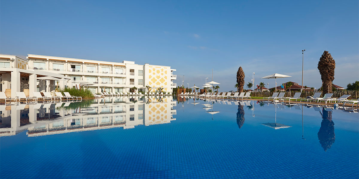 Golf + hotel Melia Saidia Marrueco