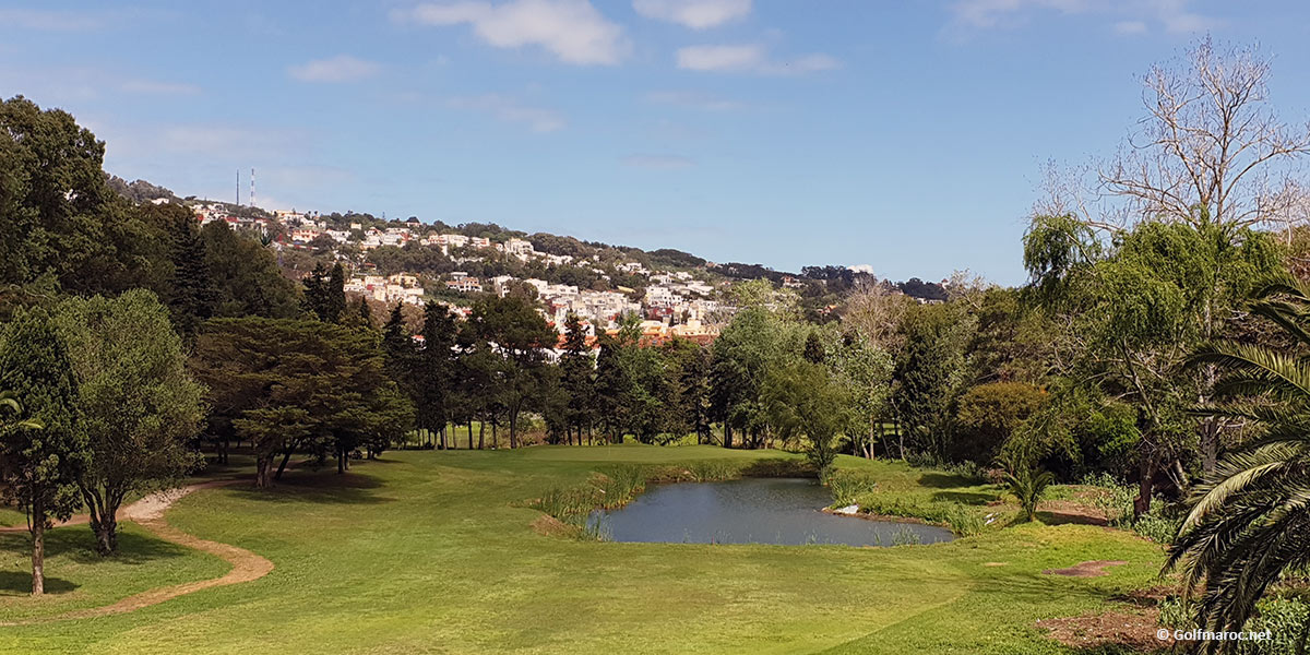 Golf and hotel Tangier Morocco