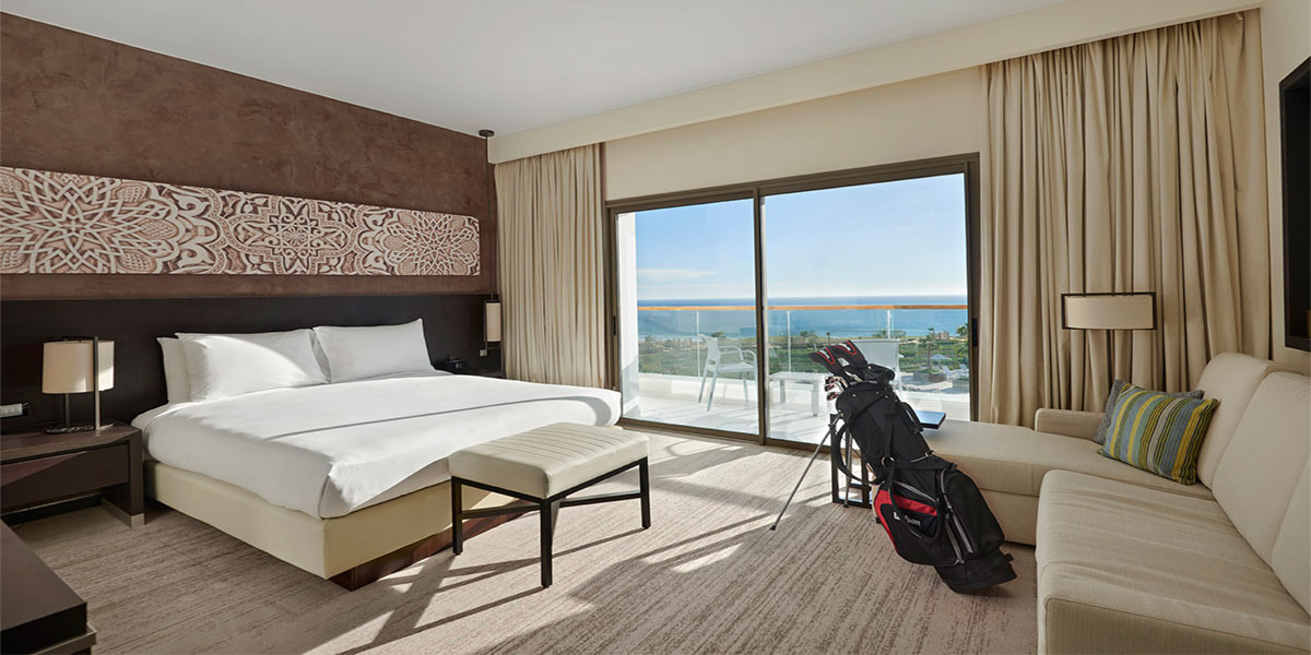Golf + hotel Hyatt-Place en Agadir Marrueco