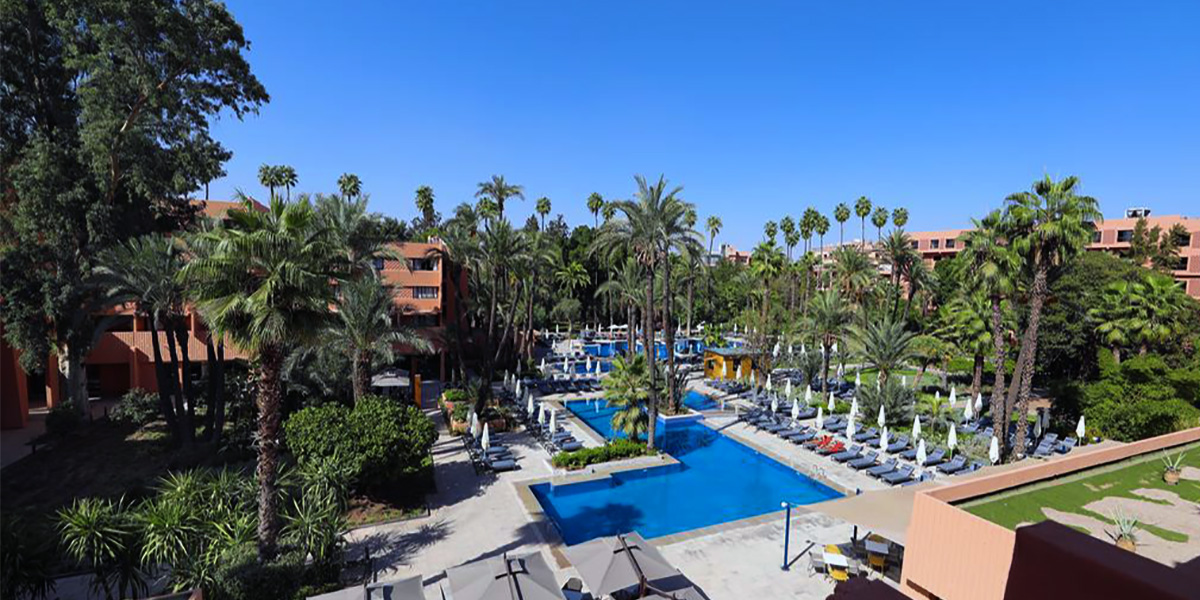 Golf and hotel Marrakesh Morocco