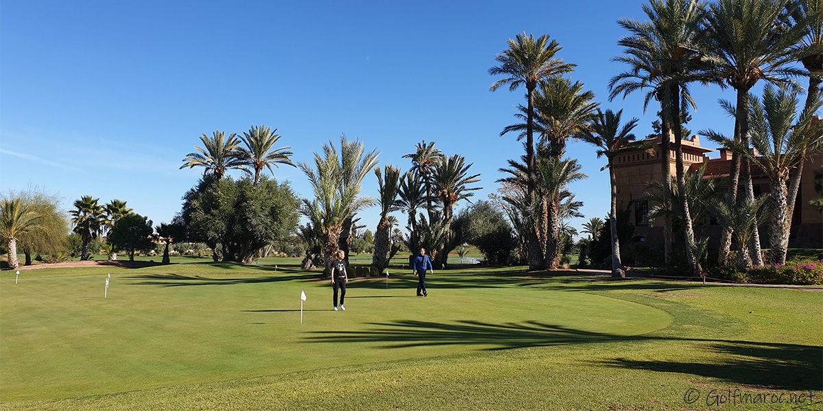 Golf de Amelkis Marrakech